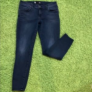 KUT FROM THE CLOTH Jeans Straight Cropped Size 6